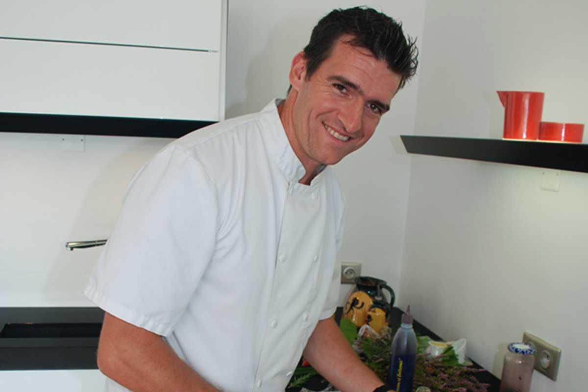 Le Chef at Domaine Bois de la Gineste: Frederic Revilla