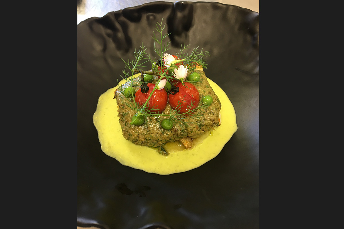 French cuisine at Domaine Bois de la Gineste